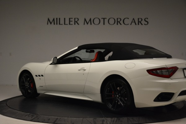New 2018 Maserati GranTurismo Sport Convertible for sale Sold at Alfa Romeo of Greenwich in Greenwich CT 06830 5