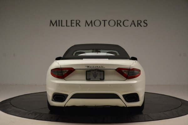 New 2018 Maserati GranTurismo Sport Convertible for sale Sold at Alfa Romeo of Greenwich in Greenwich CT 06830 7