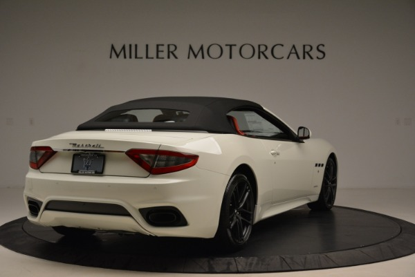 New 2018 Maserati GranTurismo Sport Convertible for sale Sold at Alfa Romeo of Greenwich in Greenwich CT 06830 8
