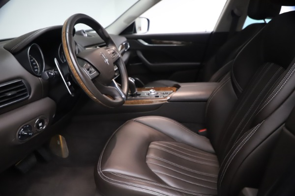 Used 2018 Maserati Levante S Q4 GranLusso for sale $67,900 at Alfa Romeo of Greenwich in Greenwich CT 06830 13
