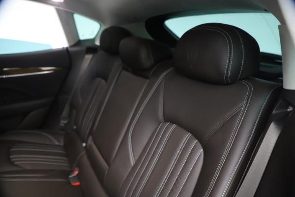 Used 2018 Maserati Levante S Q4 GranLusso for sale $67,900 at Alfa Romeo of Greenwich in Greenwich CT 06830 18