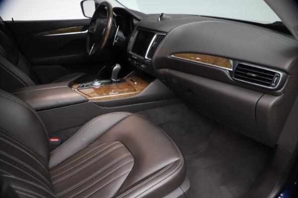 Used 2018 Maserati Levante S Q4 GranLusso for sale $67,900 at Alfa Romeo of Greenwich in Greenwich CT 06830 20