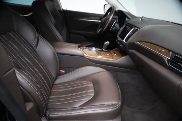 Used 2018 Maserati Levante S Q4 GranLusso for sale $67,900 at Alfa Romeo of Greenwich in Greenwich CT 06830 21