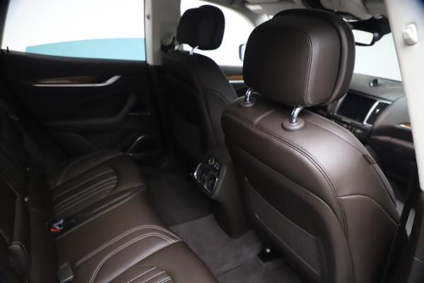 Used 2018 Maserati Levante S Q4 GranLusso for sale $67,900 at Alfa Romeo of Greenwich in Greenwich CT 06830 23