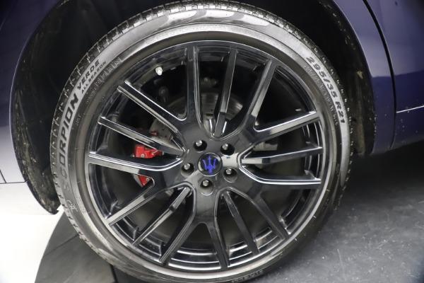Used 2018 Maserati Levante S Q4 GranLusso for sale $67,900 at Alfa Romeo of Greenwich in Greenwich CT 06830 26