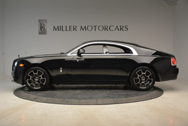 Used 2017 Rolls-Royce Wraith Black Badge for sale Sold at Alfa Romeo of Greenwich in Greenwich CT 06830 3