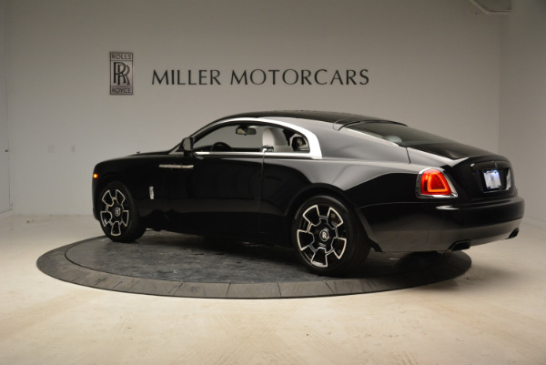 Used 2017 Rolls-Royce Wraith Black Badge for sale Sold at Alfa Romeo of Greenwich in Greenwich CT 06830 4