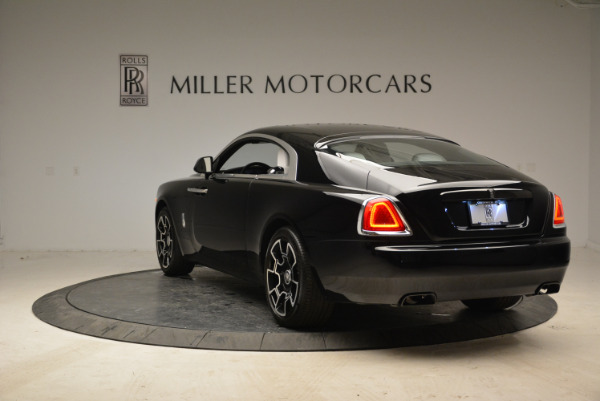 Used 2017 Rolls-Royce Wraith Black Badge for sale Sold at Alfa Romeo of Greenwich in Greenwich CT 06830 5