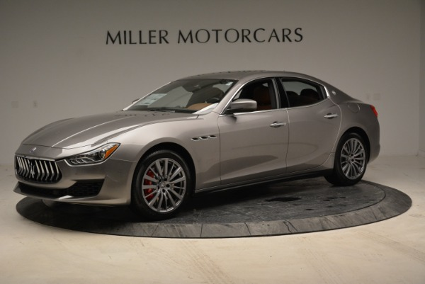 New 2018 Maserati Ghibli S Q4 for sale Sold at Alfa Romeo of Greenwich in Greenwich CT 06830 1