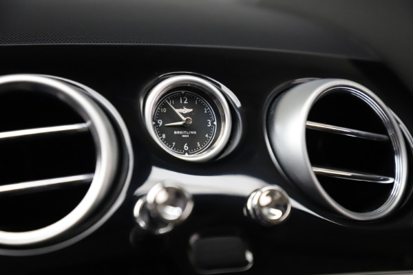 Used 2016 Bentley Continental GT W12 for sale $134,900 at Alfa Romeo of Greenwich in Greenwich CT 06830 21