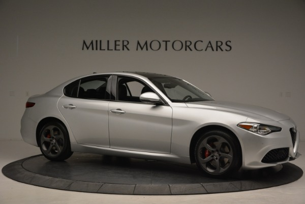 New 2018 Alfa Romeo Giulia Ti Sport Q4 for sale Sold at Alfa Romeo of Greenwich in Greenwich CT 06830 10