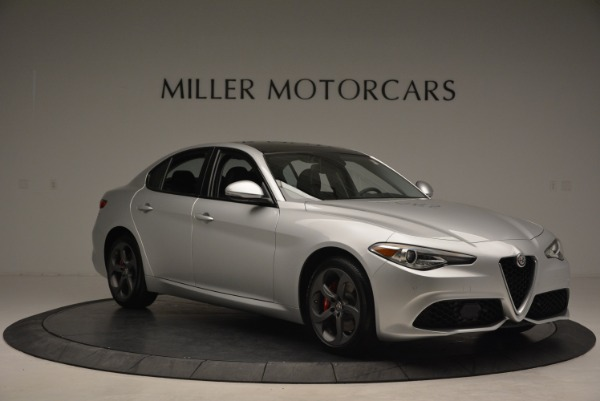 New 2018 Alfa Romeo Giulia Ti Sport Q4 for sale Sold at Alfa Romeo of Greenwich in Greenwich CT 06830 11