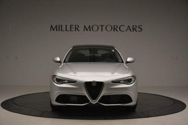 New 2018 Alfa Romeo Giulia Ti Sport Q4 for sale Sold at Alfa Romeo of Greenwich in Greenwich CT 06830 12