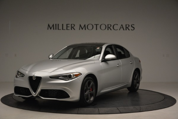 New 2018 Alfa Romeo Giulia Ti Sport Q4 for sale Sold at Alfa Romeo of Greenwich in Greenwich CT 06830 1