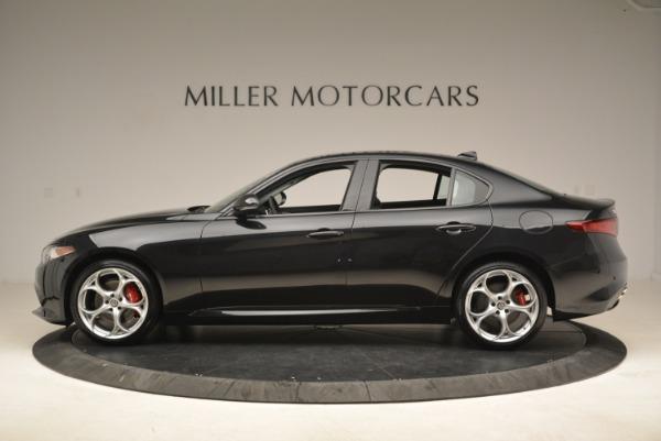 New 2018 Alfa Romeo Giulia Ti Sport Q4 for sale Sold at Alfa Romeo of Greenwich in Greenwich CT 06830 3