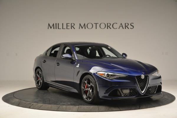 New 2018 Alfa Romeo Giulia Quadrifoglio for sale Sold at Alfa Romeo of Greenwich in Greenwich CT 06830 11
