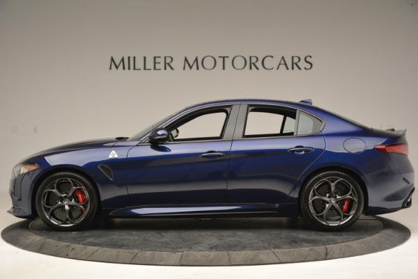 New 2018 Alfa Romeo Giulia Quadrifoglio for sale Sold at Alfa Romeo of Greenwich in Greenwich CT 06830 3
