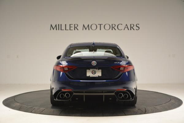 New 2018 Alfa Romeo Giulia Quadrifoglio for sale Sold at Alfa Romeo of Greenwich in Greenwich CT 06830 6