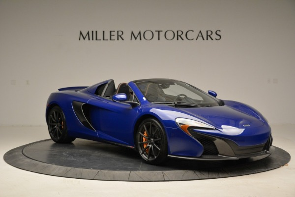Used 2016 McLaren 650S Spider for sale Sold at Alfa Romeo of Greenwich in Greenwich CT 06830 10