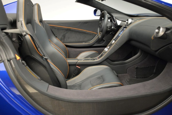 Used 2016 McLaren 650S Spider for sale Sold at Alfa Romeo of Greenwich in Greenwich CT 06830 27