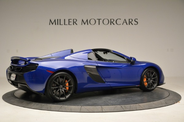 Used 2016 McLaren 650S Spider for sale Sold at Alfa Romeo of Greenwich in Greenwich CT 06830 8