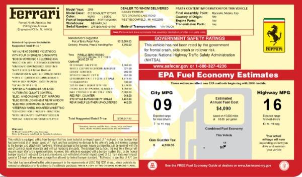 Used 2008 Ferrari 612 Scaglietti OTO for sale Sold at Alfa Romeo of Greenwich in Greenwich CT 06830 23