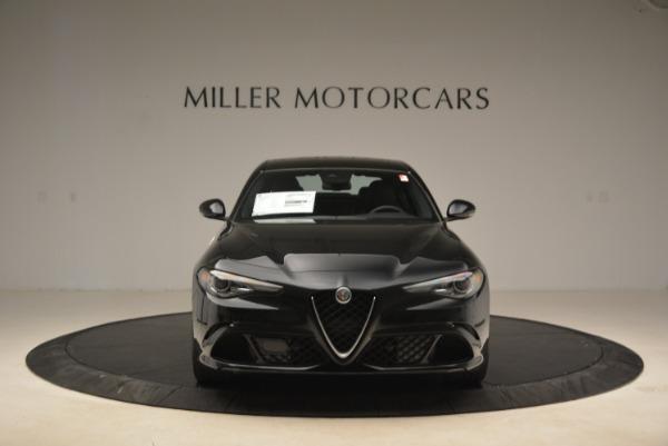 New 2018 Alfa Romeo Giulia Quadrifoglio for sale Sold at Alfa Romeo of Greenwich in Greenwich CT 06830 12