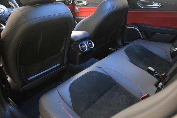 New 2018 Alfa Romeo Giulia Quadrifoglio for sale Sold at Alfa Romeo of Greenwich in Greenwich CT 06830 18
