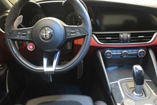 New 2018 Alfa Romeo Giulia Quadrifoglio for sale Sold at Alfa Romeo of Greenwich in Greenwich CT 06830 20