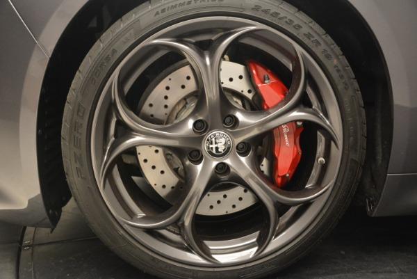 New 2018 Alfa Romeo Giulia Quadrifoglio for sale Sold at Alfa Romeo of Greenwich in Greenwich CT 06830 21