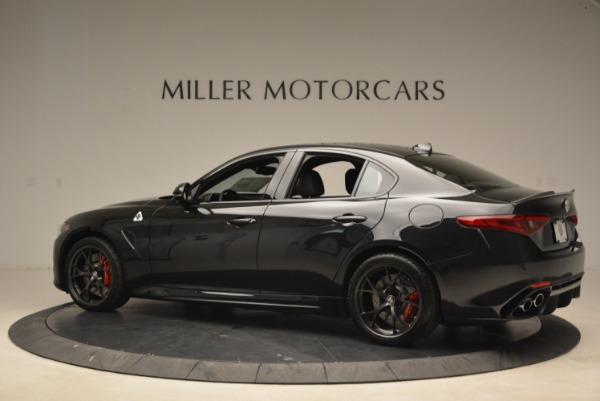 New 2018 Alfa Romeo Giulia Quadrifoglio for sale Sold at Alfa Romeo of Greenwich in Greenwich CT 06830 4