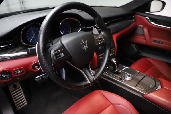 Used 2018 Maserati Quattroporte S Q4 GranSport for sale $67,900 at Alfa Romeo of Greenwich in Greenwich CT 06830 13
