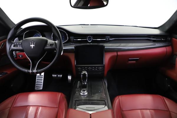 Used 2018 Maserati Quattroporte S Q4 GranSport for sale $67,900 at Alfa Romeo of Greenwich in Greenwich CT 06830 16