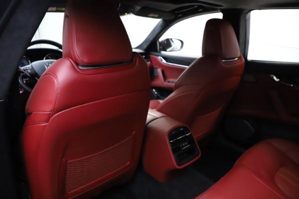 Used 2018 Maserati Quattroporte S Q4 GranSport for sale $67,900 at Alfa Romeo of Greenwich in Greenwich CT 06830 20