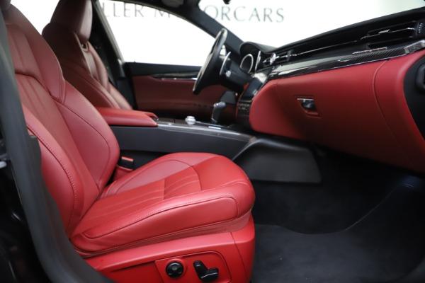 Used 2018 Maserati Quattroporte S Q4 GranSport for sale $67,900 at Alfa Romeo of Greenwich in Greenwich CT 06830 23