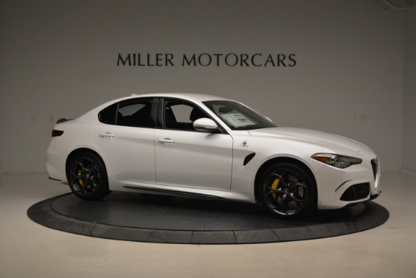 New 2018 Alfa Romeo Giulia Quadrifoglio for sale Sold at Alfa Romeo of Greenwich in Greenwich CT 06830 10