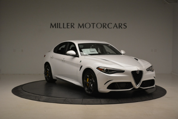 New 2018 Alfa Romeo Giulia Quadrifoglio for sale Sold at Alfa Romeo of Greenwich in Greenwich CT 06830 11