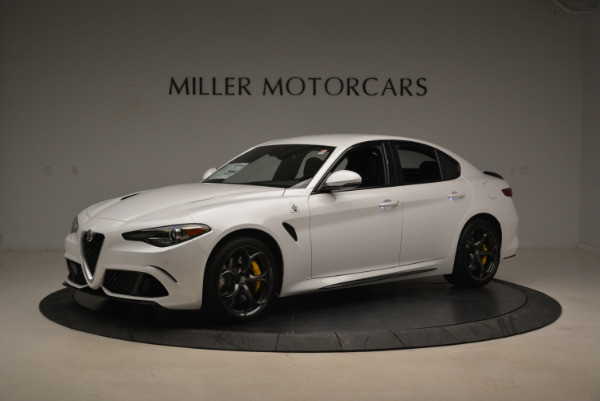 New 2018 Alfa Romeo Giulia Quadrifoglio for sale Sold at Alfa Romeo of Greenwich in Greenwich CT 06830 2