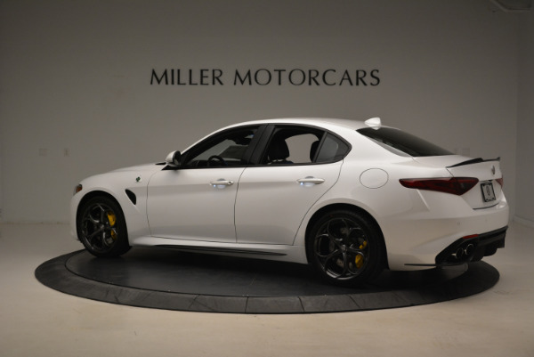 New 2018 Alfa Romeo Giulia Quadrifoglio for sale Sold at Alfa Romeo of Greenwich in Greenwich CT 06830 4