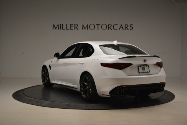 New 2018 Alfa Romeo Giulia Quadrifoglio for sale Sold at Alfa Romeo of Greenwich in Greenwich CT 06830 5