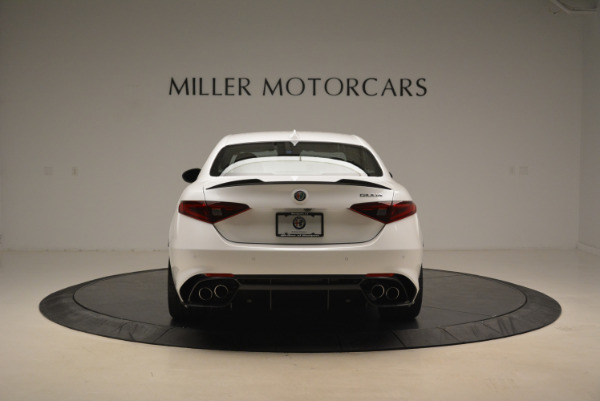 New 2018 Alfa Romeo Giulia Quadrifoglio for sale Sold at Alfa Romeo of Greenwich in Greenwich CT 06830 6
