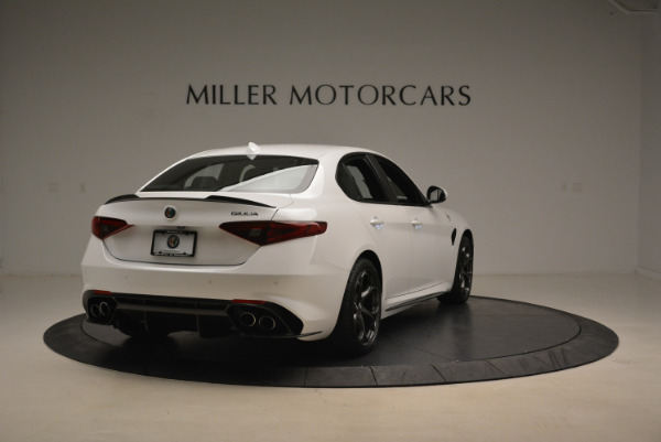 New 2018 Alfa Romeo Giulia Quadrifoglio for sale Sold at Alfa Romeo of Greenwich in Greenwich CT 06830 7