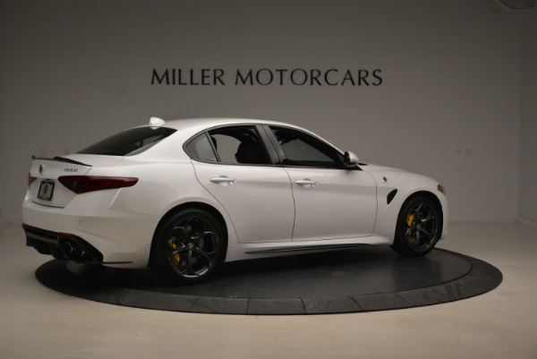 New 2018 Alfa Romeo Giulia Quadrifoglio for sale Sold at Alfa Romeo of Greenwich in Greenwich CT 06830 8