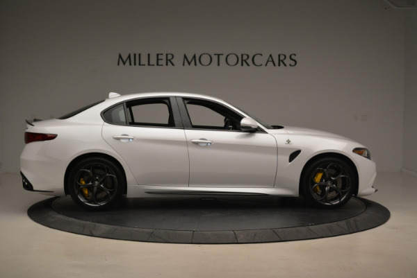 New 2018 Alfa Romeo Giulia Quadrifoglio for sale Sold at Alfa Romeo of Greenwich in Greenwich CT 06830 9