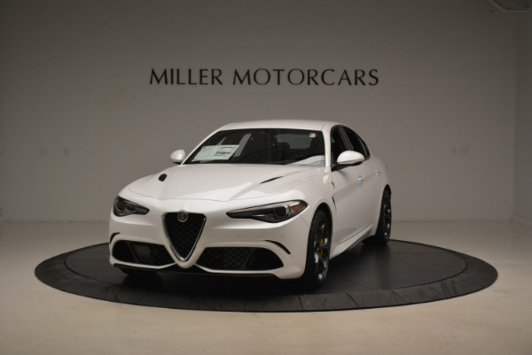 New 2018 Alfa Romeo Giulia Quadrifoglio for sale Sold at Alfa Romeo of Greenwich in Greenwich CT 06830 1