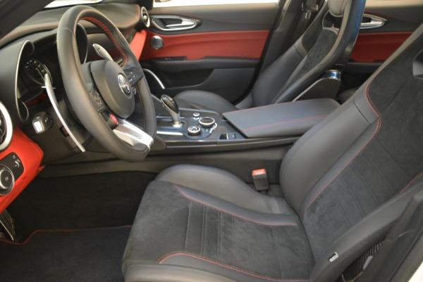 New 2018 Alfa Romeo Giulia Quadrifoglio for sale Sold at Alfa Romeo of Greenwich in Greenwich CT 06830 14
