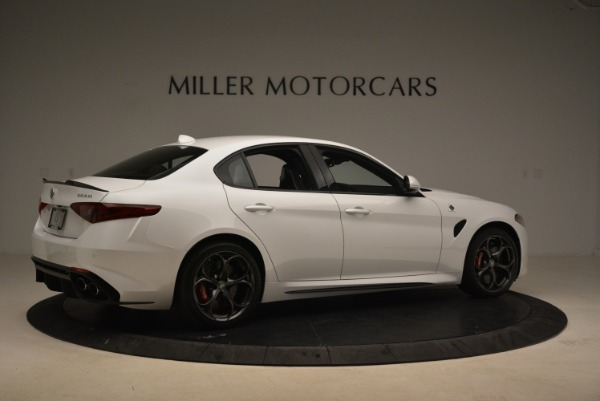 New 2018 Alfa Romeo Giulia Quadrifoglio for sale Sold at Alfa Romeo of Greenwich in Greenwich CT 06830 8