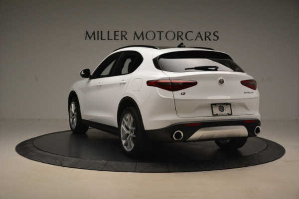 New 2018 Alfa Romeo Stelvio Ti Sport Q4 for sale Sold at Alfa Romeo of Greenwich in Greenwich CT 06830 5
