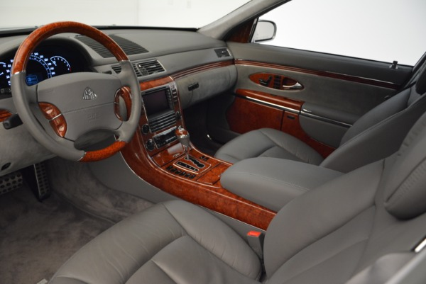 Used 2004 Maybach 57 for sale Sold at Alfa Romeo of Greenwich in Greenwich CT 06830 14