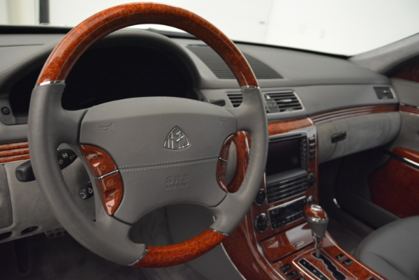 Used 2004 Maybach 57 for sale Sold at Alfa Romeo of Greenwich in Greenwich CT 06830 15